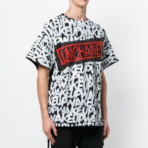 Faith Connexion Unchained Tag Laced T-Shirt